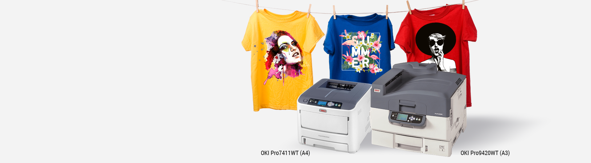 OKI white toner printer