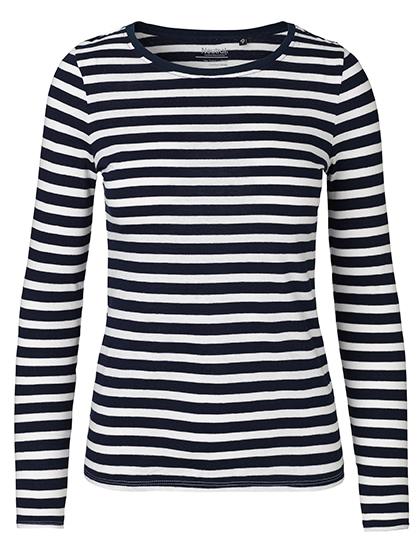 White - Navy (Striped)