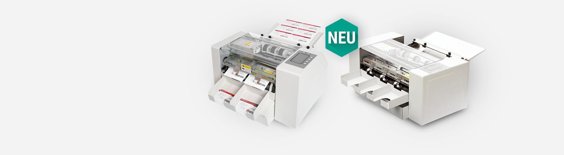 Secabos Card Cutter CC21 (DIN A4) & CC30 (DIN A3)