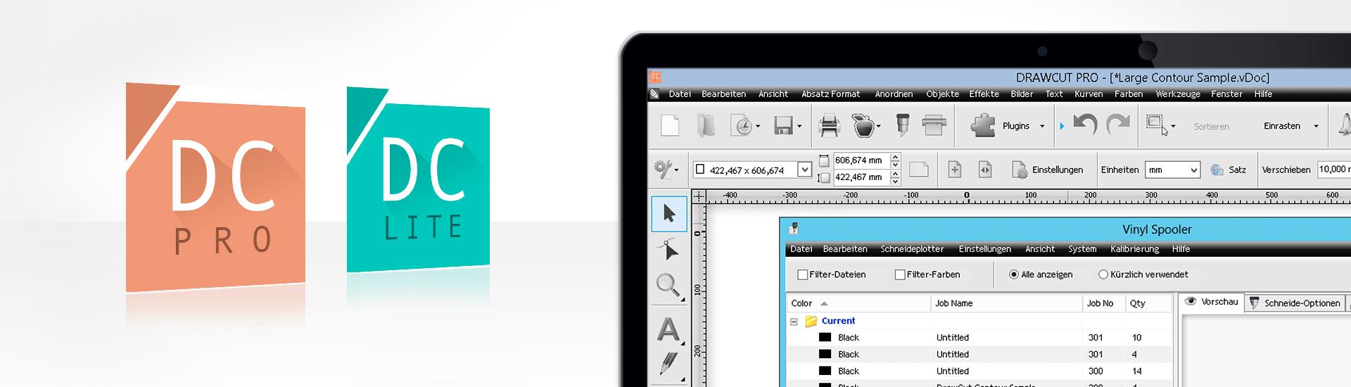 Il nuovo software DrawCut LITE e il Pro plotter da taglio