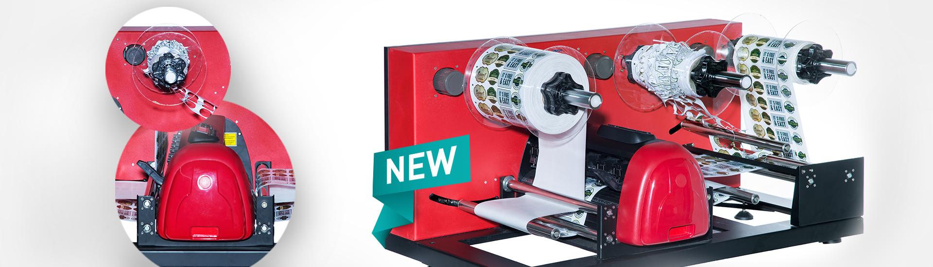 A nova etiqueta LC30 cortador Secabo