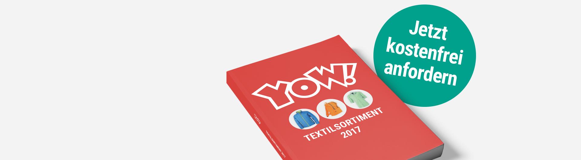 El nuevo YOW! Catálogo de textiles!