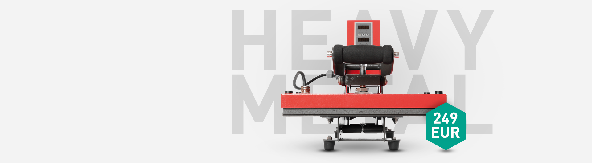 Secabo TC2 heat press at an incredible price