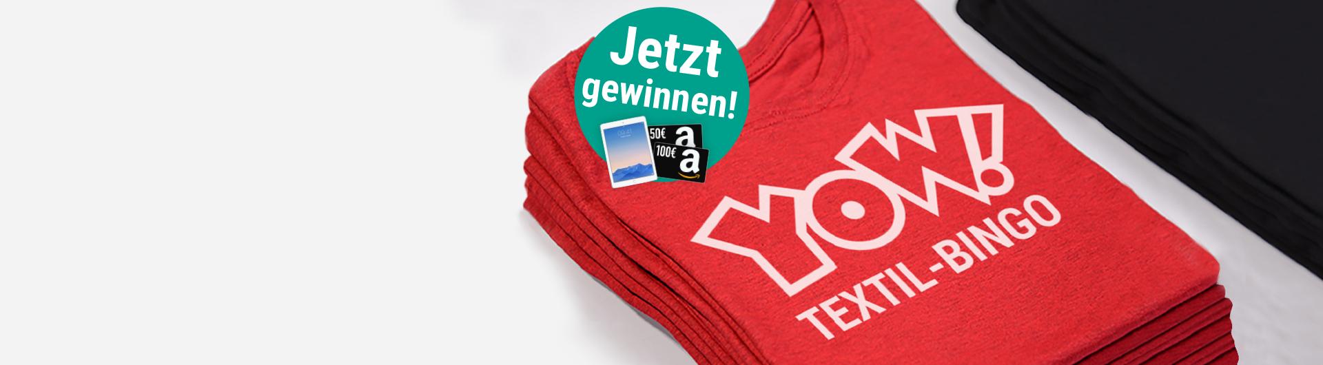 Das YOW! Textil-Bingo ist live!