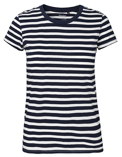 White - Navy (Striped)