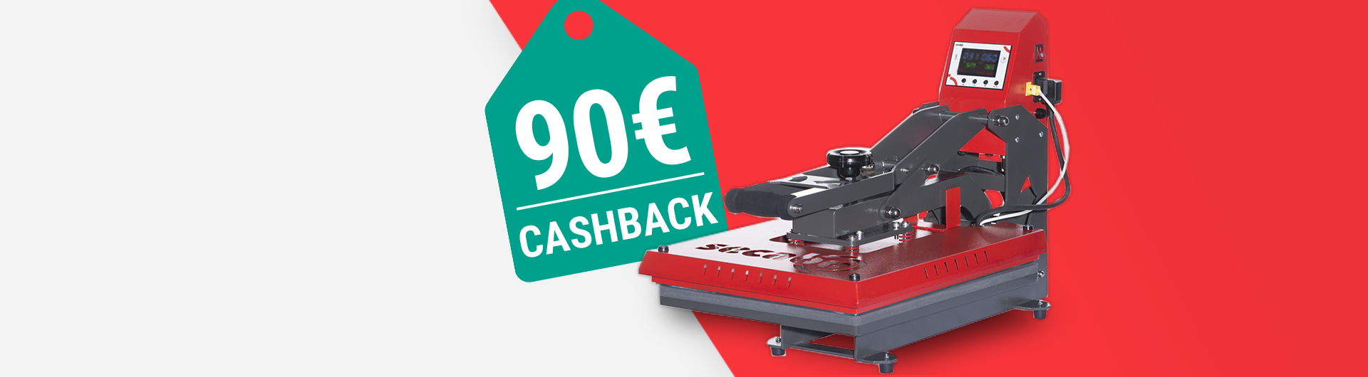 Jetzt 90 EUR CashBack sichern!