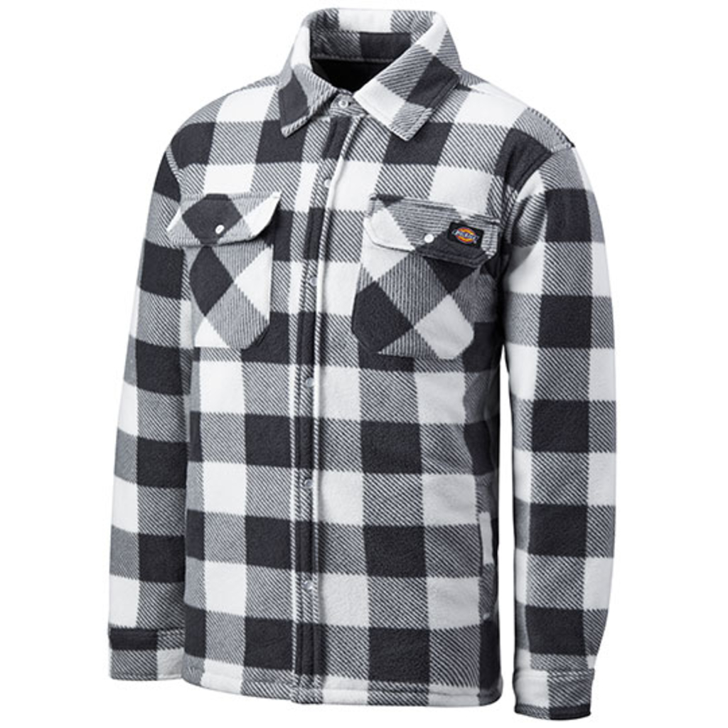 White-Grey Check