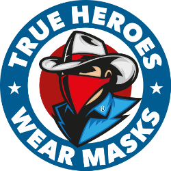 Logo True Heroes Wear Masks